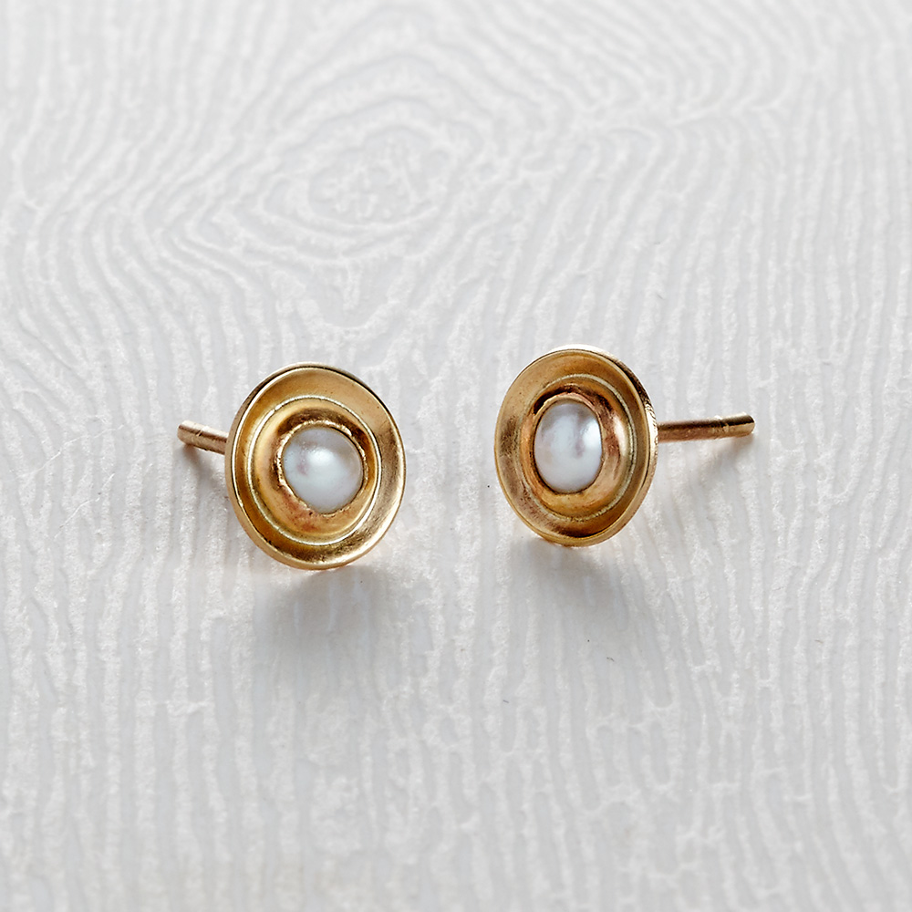 Honeybourne Stud Earrings